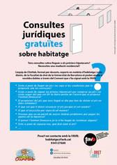 Servei de consultes gratuïtes relacionades amb l'habitatge - cartell