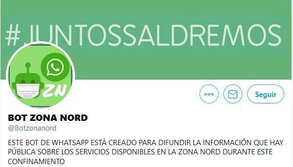 El bot Zona Nord: La informació del barri (o la ciutat) que necessites al whatsap i sense xats!