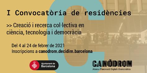 Convocatòria Residències 2021 - Banner Català (1)
