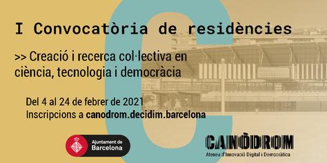 Convocatòria Residències 2021 - Banner Català (2)