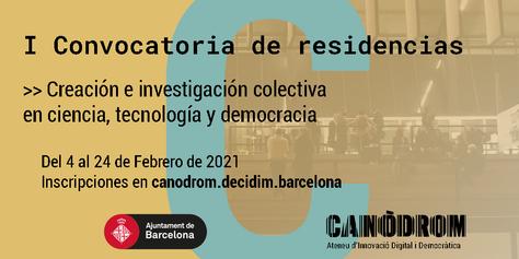 Convocatòria Residències 2021 - Banner Castellà (1)