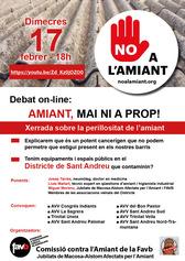 Cartell xerrada Sant Andreu